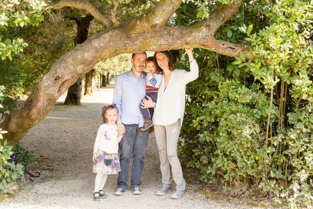famiglia - Giardino di Boboli - Firenze