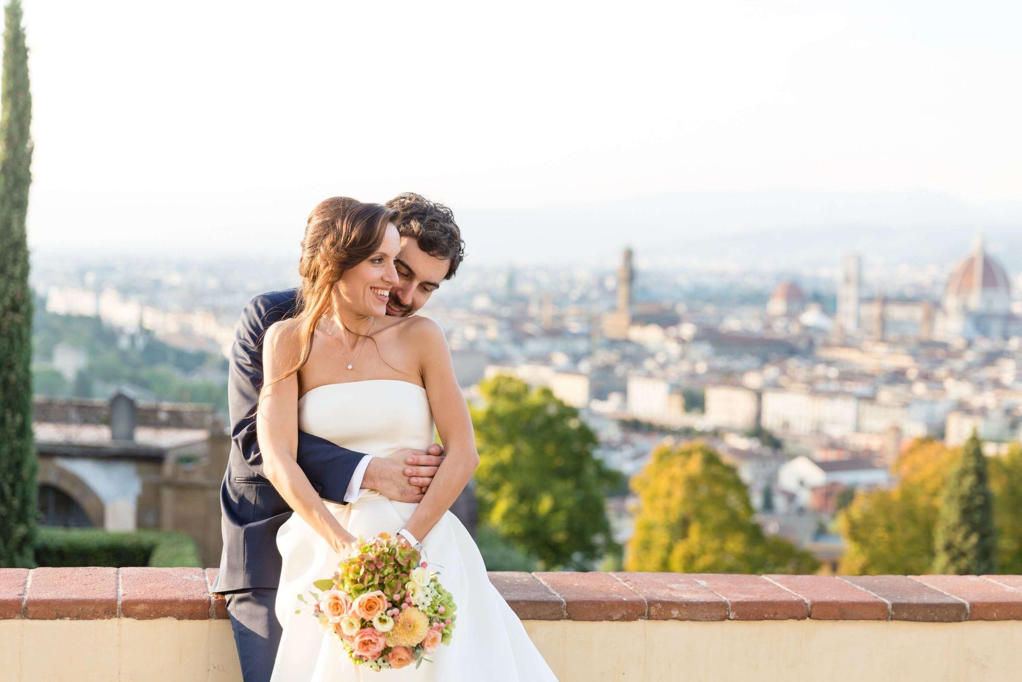 matrimonio E&J - San Miniato al Monte - Firenze - Toscana