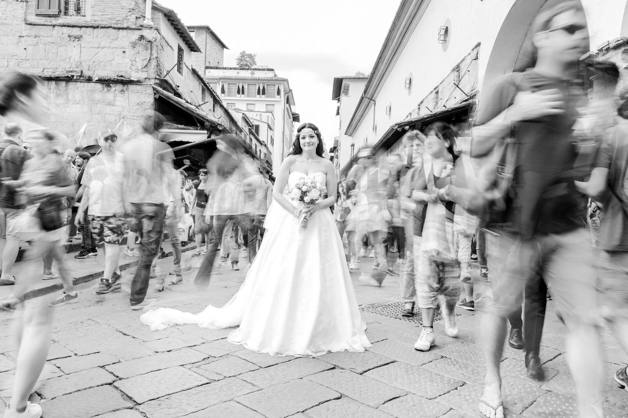 matrimonio G&B - Ponte Vecchio - Firenze